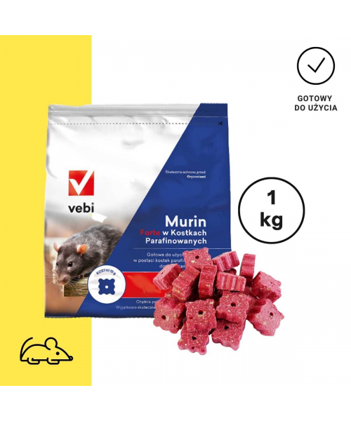 Murin Forte Blok XL 30g - 10kg